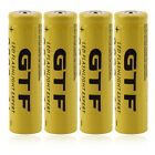 Lot 3.7V 18650 9800mAh Li-ion Rechargeable Battery + Charger for Flashligh H5