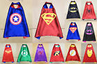 NEW!!!Superman  Hero Cape  Kids Party Fancy Dress Costume Outfit