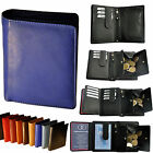 Wallet with 2 Secret Compartments / 21 / Cattle leather / Purse