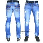TRUE PEVIANI G JEANS, HIP HOP RIP TIME IS MONEY MENS STAR DENIM OXFORD STRAIGHT