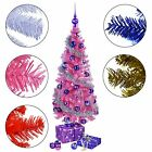 Artificial Xmas Christmas Tree JAZZY WONDERLAND 150 cm 5 ft 250 Tips with Stand
