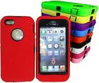 iphone 5 full body heavy duty tradesman case cover 10 colors available