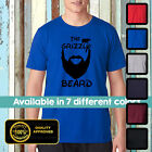 Grizzly Beard Tshirt - Funny Tshirt - Fear the beard - With great beard Tshirt