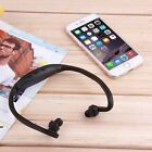 NEW Fashion Wireless Headset Headphone Ear Loop Sport MP3 Music Player TF Card#E