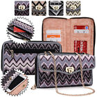 Women's Convertible Tribal Smartphone Wristlet Cover & Crossbody Purse SUNIS2-18
