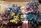 VINTAGE RARE Millinery FLOWERS 1 bouquet Dolls Made in Czechoslovakia