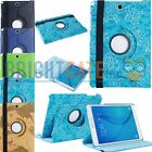 360 Rotating PU Leather Smart Case For Samsung Galaxy Tab A 9.7 SM-T550 T555 US