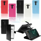 PU Leather Stand Wallet Card Holder Kickstand Case Cover For LG V10 F600 H961N