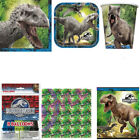 JURASSIC WORLD PARK KIDS BIRTHDAY CUPS PLATES NAPKINS TABLEWARE KIT FOR 8 OR 16