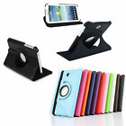 360 Degree Rotating Case Stand For Samsung Galaxy Plain Tab 3 P3200 7 Inches