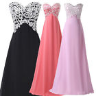 MATERNITY Formal Wedding Evening Ball Gown Party Prom Bridesmaid Dress PLUS SIZE