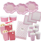 Girls Pink Sleepover Slumber Birthday Movie Princess Party
