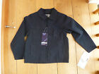 TRESPASS 'FAITH' BLACK COTTON CANVAS JACKET 5 TO 6 YEARS BNWT