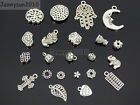 Tibetan Silver Connector Metal Loose Spacer Charm Beads Jewelry Design Findings