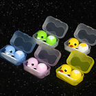 Magik Rubber Duck Contact Lens Lenses Box Travel Case Holder Container Set Kit