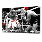 LARGE LEWIS & TYSON BOXING CANVAS ART PRINT 0877