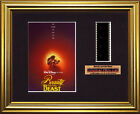 DISNEY 'Beauty and the Beast'   FRAMED MOVIE FILMCELLS