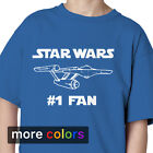 STAR WARS #1 FAN Kids Boys Girls T-shirt, Star Trek NCC-1701 Starship Enterprise $17.99 USD on eBay