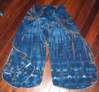 Tie-dyed Women's Harem, Gypsy, Yoga Pants. Fits 10 - 14. New Design.