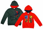 Boys Ultimate Spiderman Pouncing Zipper Hooded Sweat Jacket 4 to 10 Years