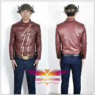 The Flash Season 2 Jay Garrick Red Battleframe Cosplay Costume With Helmet