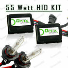55W Slim HID Lights Xenon Head Light Kit Plug N Play Bulb Size - 9006 HB4 (C)
