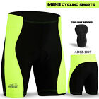 Mens Cycling Short Anti-Bac Coolmax Padded MTB Bicycle Pant Short Size - S to XL