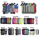 Внешний вид - 12 Pairs Lot Kids Crew Ankle Socks Boy Girl Toddler Baby Messy  0-12 2-3 4-6 6-8