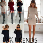 Womens Bodycon One Shoulder Dress Ladies Party Evening Mini Dress Size 6-14 UK