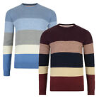 Tokyo Laundry New Mens Val Stripe Sweater Cotton Crew Knit Pullover Jumper Top