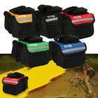 Cycling Bicycle Bike Top Frame Front Pannier Saddle Tube Bag Double Pouch YA