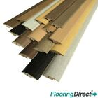 MDF Laminate Wood Flooring Threshold Door Profile Trim T-Bar or Ramp Edge End