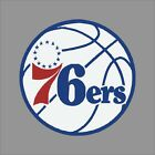Philadelphia 76ers #4 NBA Team Logo Vinyl Decal Sticker Car Window Wall Cornhole on eBay