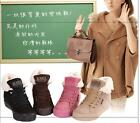 Fashion Winter Women Snow Boots Soft Warm Heel lifed Lady Mid-calf Shoes Unisex