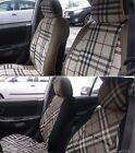 LEATHERETTE and SYNTHETIC TWO FRONT CUSTOM CAR SEAT COVERS fits on AUDI A6 seats