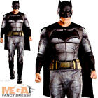 Batman Mens Fancy Dress Dawn of Justice Superhero Comic Book Film Adults Costume