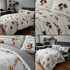 CATS & DOGS CUTE POOCH PUP KITTEN CAT QUILT DUVET COVER BEDDING SET & PILLOWCASE