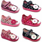 Girls sandals canvas shoes slippers trainers size 3 - 9 UK baby toddler new