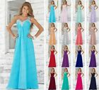 New Design Chiffon Evening Formal Party Ball Gown Prom Bridesmaid Dress Sz 6-26