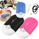 Rechargeable Portable Mini Handheld Air Conditioning Cooling Fan USB Cooler Wb