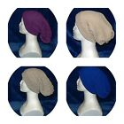 Adult Size Slouch Hat 100% Superwash Wool Machine Wash Dry Flat