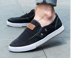 Fashion Mens sports shoes breathable canvas shoes England casual shoes