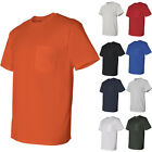 Gildan DryBlend Mens 50/50 Short Sleeve Tees T-Shirt with a Pocket image