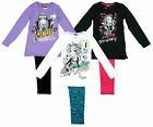 Girls I Love Monster High Lagoona Ghoul Friends Long Pyjamas 8 to 14 Years