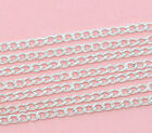 1 to 10 Metres Curb Link Jewellery Craft Making Chain - Buy 3 Get 1 FREE