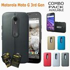 SHOCKPROOF & ANTI-SCRATCHES Soft Gel Case Cover For Motorola MOTO G3 3rd Gen