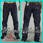 NEW MENS DESIGNER JEANS men's DARK BLUE denim wear CASUAL PANTS FOR MEN FASHION