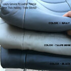 A25 Triple Stitched 8mm Thick Genuine Pu Leather Custom Exact Fit Seat Covers