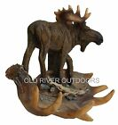 Rustic Moose Antler Decorative Wall Hooks Hook  Antlers Lodge Cabin Deer Decor