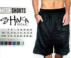 Shaka Wear Mens Mesh Basketball Shorts Free Shipping Any Color Size SM-5X